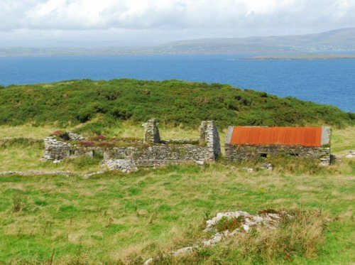 Famine Ruins Cape Clear