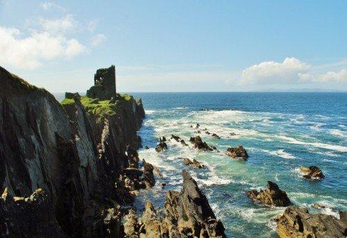 Castle Ruin Cape Clear Island