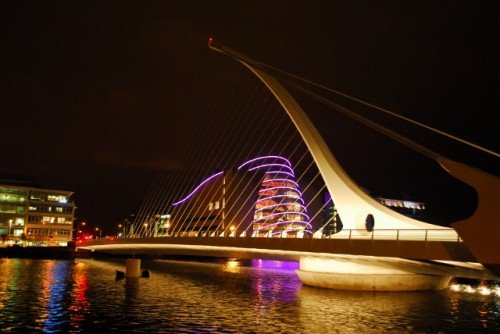 Docklands Bridge Dublin