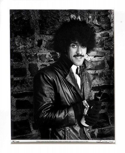 Phil Lynott at Windmill Lane 1983