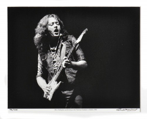 Rory Gallagher live in Dublin 1981