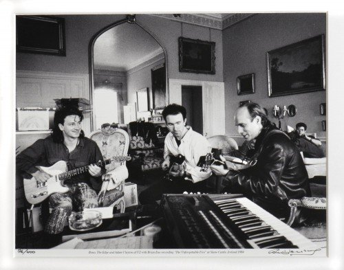 U2 at Slane Castle 1984