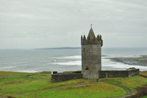 Castle by the sea, Doolin,