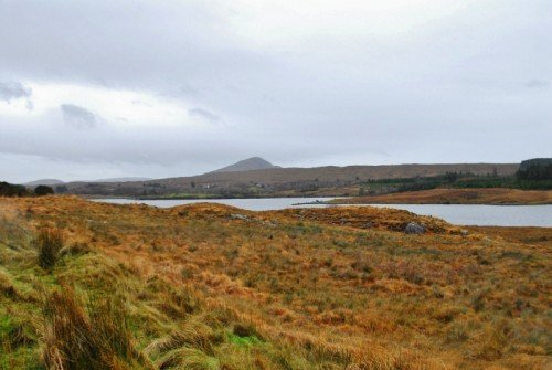 Connemara view with River
