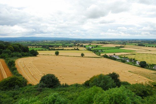 View from Dunamase Castle 2, Co. Laois
