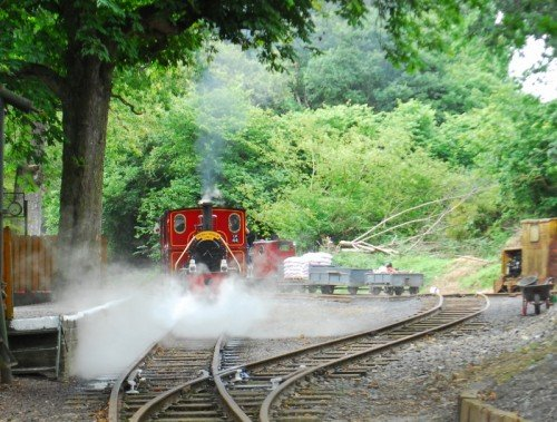 Steam Railway , Stradbally Co. Laois