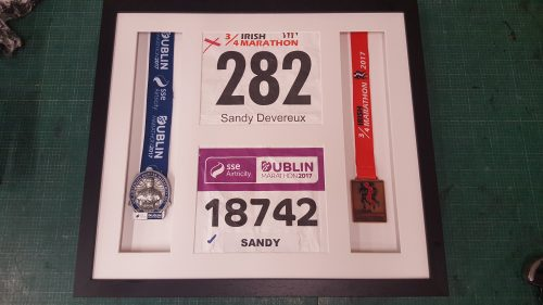Marathon Medals and Contestant Numbers<br>Marathon Medals and Contestant Numbers