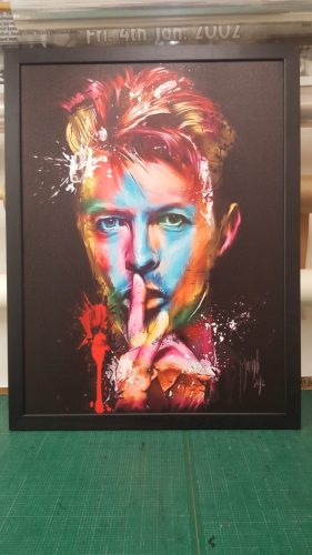 Portrait David Bowie<br>Portrait David Bowie