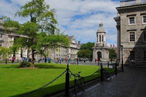 Trinity College Lawn Dublin