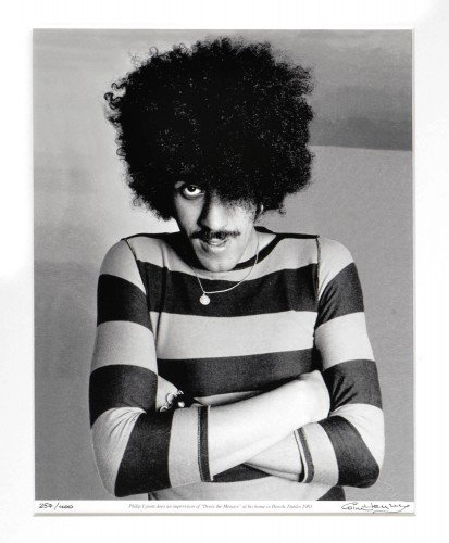 "Phil "" Dennis the Menace "" Lynott 1981"