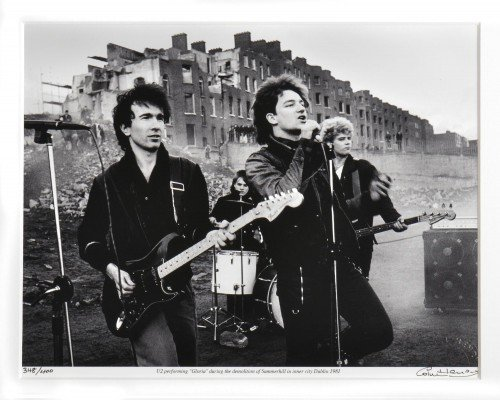 U2 in Dublin 1981