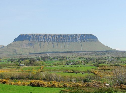 Ben Bulben , Side View, Co. Sligo