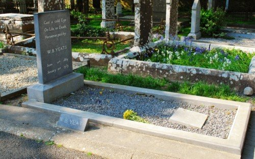 Grave of W.B.Yeats, Drumcliffe, Co. Sligo
