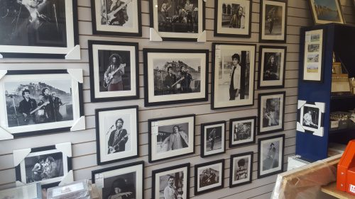 Selection of Colm Henry's Framed Images in our Showroom